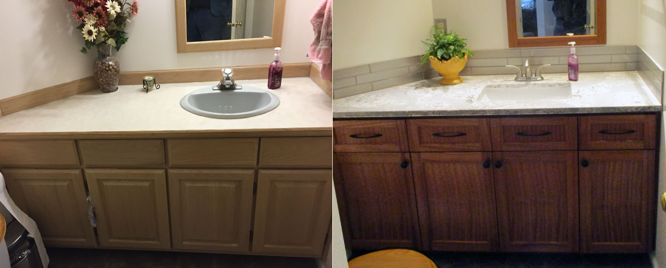 Before After Kitchen Refacing Gallery
