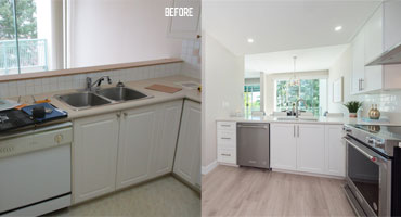 kitchen cabinet refacing greater vancouver