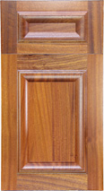 Mahogany Slope Panel