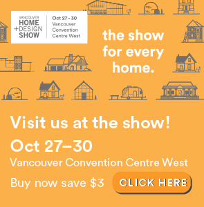 visit us at the Home Show